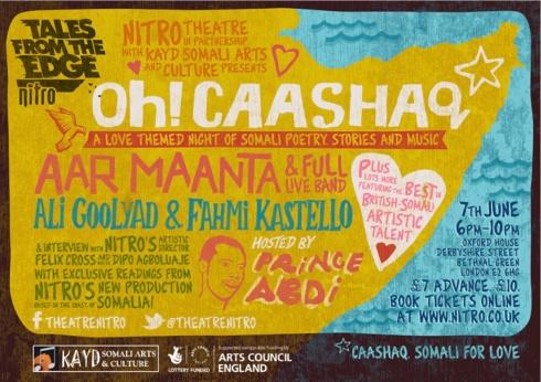 Oh Caashaq Flyer